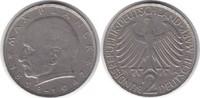 2 Mark 1964 BRD G winziger Randfehler, sehr schön  8,00 EUR  zzgl. 4,00 EUR Versand
