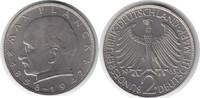 2 Mark 1963 BRD D winziger Randfehler, fast Stempelglanz  30,00 EUR  zzgl. 4,00 EUR Versand