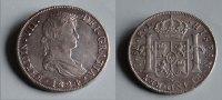 Bolivien-Spanisch bis 1825- 8 Reales. Ferdinand VII, 1808-1833.Fine condition for this coin.! Gr. Ø 40 mm