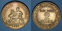 1923 FRANZÖSISCHE MODERNE MÜNZEN 3e république (1870-1940). 2 francs C... 8,00 EUR  zzgl. 8,00 EUR Versand