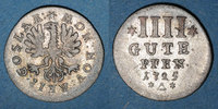 GERMANY before 1870  before 1870 TTB Goslar, 4 pfennig (gute) 1725 60,00 EUR zzgl. 8,00 EUR Versand