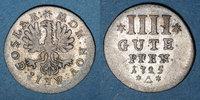 1725 ALTDEUTSCHLAND MÜNZEN Goslar. Ville. 4 pfennig (gute) 1725 ss  60,00 EUR  zzgl. 7,00 EUR Versand