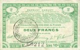 23.4.1915 FRANZÖSISCHE NOTSCHEINE Pas de Calais, Somme et Nord, Groupe... 16,00 EUR  zzgl. 7,00 EUR Versand