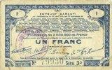 23.4.1915 FRANZÖSISCHE NOTSCHEINE Pas de Calais, Somme et Nord, Groupe... 7,00 EUR  zzgl. 7,00 EUR Versand