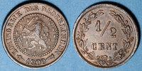 1900 EUROPA Pays Bas. Wilhelmine (1890-1948). 1/2 cent 1900 ss+  20,00 EUR  zzgl. 7,00 EUR Versand