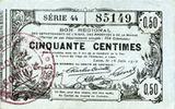 16.6.1916 FRANZÖSISCHE NOTSCHEINE Aisne, Ardennes et Marne - Bon régio... 14,00 EUR  zzgl. 7,00 EUR Versand