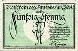 1920 DEUTSCHLAND - NOTGELDSCHEINE (1914-1923) A - J Böel. Amstsbezirk.... 10,00 EUR  zzgl. 7,00 EUR Versand