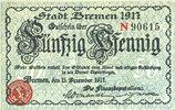 1917-12-15 DEUTSCHLAND - NOTGELDSCHEINE (1914-1923) A - J Bremen. Fina... 6,00 EUR  zzgl. 7,00 EUR Versand