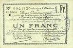 22.5.1916 FRANZÖSISCHE NOTSCHEINE Douai et Région de Carvin (59). Bill... 10,00 EUR  zzgl. 7,00 EUR Versand