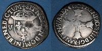1607 C FRANZÖSISCHE KÖNIGLICHE MÜNZEN Henri IV (1589-1610). 1/8 d'écu,... 100,00 EUR  zzgl. 7,00 EUR Versand