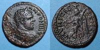 RÖMISCHE PROVINZIALPRÄGUNGEN  Caracalla (198-217). Bronze. 22 mm. Stobi (Macédoine). R/: Victoire