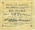 1914 FRANZÖSISCHE NOTSCHEINE Flers-en-Escrébieux (59). Commune. Billet... 20,00 EUR  zzgl. 7,00 EUR Versand