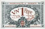 20.3.1920 ANDERE AUSLÄNDISCHE SCHEINE Monaco. Billet. 1 franc 20.3.192... 350,00 EUR  zzgl. 7,00 EUR Versand