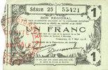 8.5.1915 FRANZÖSISCHE NOTSCHEINE Fourmies (59). Bon Régional des Dépar... 8,00 EUR  zzgl. 7,00 EUR Versand