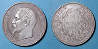 1853 A FRENCH MODERN COINS 2e empire (1852-1870). 2 francs, tête nue, ... 1800,00 EUR  +  25,00 EUR shipping