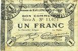 1915-12-16 FRANZÖSISCHE NOTSCHEINE Raillencourt-Ste-Olle (59). Commune... 15,00 EUR  zzgl. 7,00 EUR Versand