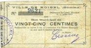 11.7.1915 FRANZÖSISCHE NOTSCHEINE Roisel (80). Ville. Billet. 25 centi... 6,00 EUR  zzgl. 7,00 EUR Versand