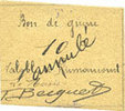 FRANZÖSISCHE NOTSCHEINE Rumaucourt (62). Bon de Guerre. Billet. 10 ce... 180,00 EUR  zzgl. 8,00 EUR Versand