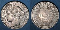 1851 A FRANZÖSISCHE MODERNE MÜNZEN 2e république (1848-1852). 1 franc ... 150,00 EUR  zzgl. 7,00 EUR Versand