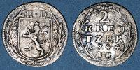 1744AK ALTDEUTSCHLAND MÜNZEN Hesse-Darmstadt. Louis VIII (1739-68). 2 ... 15,00 EUR  zzgl. 7,00 EUR Versand