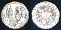 EUROPE  Autriche. 5 euro 2006. Mozart