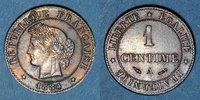 1884 A FRANZÖSISCHE MODERNE MÜNZEN 3e république (1870-1940). 1 centim... 20,00 EUR  zzgl. 8,00 EUR Versand