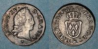 1767 FRANZÖSISCHE KÖNIGLICHE MÜNZEN Louis XV (1715-1774). Liard d'Aix ... 450,00 EUR  zzgl. 7,00 EUR Versand