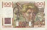 7.11.1945 BANKNOTEN DER BANQUE DE FRANCE Banque de France. Billet. 100... 18,00 EUR  zzgl. 7,00 EUR Versand