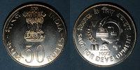1977 WELTMÜNZEN H bis P Inde. République. 50 roupies 1977 (B) Mumbai v... 100,00 EUR  zzgl. 7,00 EUR Versand