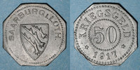 1917 FRANZÖSISCHE NOTMÜNZEN Sarrebourg (57). Ville. 50 pfennig 1917 ss... 30,00 EUR  zzgl. 7,00 EUR Versand