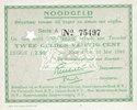 14.5.1940 ANDERE AUSLÄNDISCHE SCHEINE Pays Bas. Commune (Gemeente) Ens... 480,00 EUR  zzgl. 8,00 EUR Versand