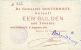 1914 ANDERE AUSLÄNDISCHE SCHEINE Pays Bas. Commune (Gemeente) Oosterho... 135,00 EUR  zzgl. 7,00 EUR Versand