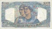 3.10.1946 BANKNOTEN DER BANQUE DE FRANCE Banque de France. Billet. 100... 120,00 EUR  zzgl. 7,00 EUR Versand