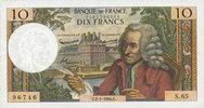 2.1.1964 BANKNOTEN DER BANQUE DE FRANCE Banque de France. Billet. 10 f... 160,00 EUR  zzgl. 7,00 EUR Versand