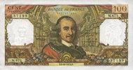 5.10.1972 BANKNOTEN DER BANQUE DE FRANCE Banque de France. Billet. 100... 120,00 EUR  zzgl. 7,00 EUR Versand