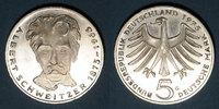 1975 G KAISERREICH MÜNZEN Allemagne. 5 mark 1975G. 'Albert Schweitzer'... 7,00 EUR  zzgl. 7,00 EUR Versand