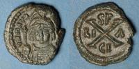 587-602 n. Chr. BYZANZ Empire byzantin. Maurice Tibère (582-602). Déca... 185,00 EUR  zzgl. 7,00 EUR Versand