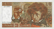 6.7.1978 BANKNOTEN DER BANQUE DE FRANCE Banque de France. Billet. 10 f... 30,00 EUR  zzgl. 7,00 EUR Versand