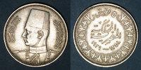 1358H WELTMÜNZEN A bis G Egypte. Farouk (1355-1372H = 1936-1952). 5 pi... 14,00 EUR  zzgl. 7,00 EUR Versand