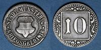 1918 GERMANY after 1870 Münster i Westf. Ville. 10 pfennig 1918. Fer ss  3,00 EUR  plus 7,00 EUR verzending