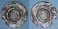 1260 EUROPE Bohème. Ottokar II (1253-1278). Bractéate (vers 1260). R !... 75,00 EUR  plus 7,00 EUR verzending