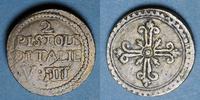 WEIGHTS Italie. Poids monétaire de la double pistole d'Italie ss+  / ... 90,00 EUR  plus 7,00 EUR verzending
