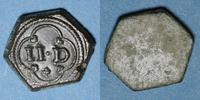 GEWICHTE Poids monétaire de deux deniers (14e - 16e siècle) Patine ve... 180,00 EUR  zzgl. 7,00 EUR Versand