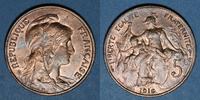 1916 FRANZÖSISCHE MODERNE MÜNZEN 3e république (1870-1940). 5 cmes Dup... 5,30 EUR  zzgl. 7,00 EUR Versand