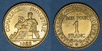 1923 FRANZÖSISCHE MODERNE MÜNZEN 3e république (1870-1940). 1 franc Ch... 5,00 EUR  zzgl. 7,00 EUR Versand