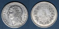 1946 FRANZÖSISCHE MODERNE MÜNZEN Gouvernement provisoire (1944-1947). ... 4,00 EUR  zzgl. 7,00 EUR Versand