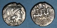 vers 145 av. J-C RÖMISCHE REPUBLIK République romaine. M. Junius Silan... 100,00 EUR  zzgl. 7,00 EUR Versand