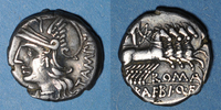 vers 137 av. J-C RÖMISCHE REPUBLIK République romaine. M. Baebius Q. f... 75,00 EUR  zzgl. 7,00 EUR Versand