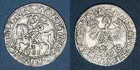 1561 EUROPA Lituanie. Grand Duché. Sigismond III Auguste (1544-1572). ... 55,00 EUR  zzgl. 8,00 EUR Versand