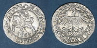 1563 EUROPA Lituanie. Grand Duché. Sigismond III Auguste (1544-1572). ... 40,00 EUR  zzgl. 8,00 EUR Versand